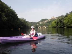 Me on my kayak