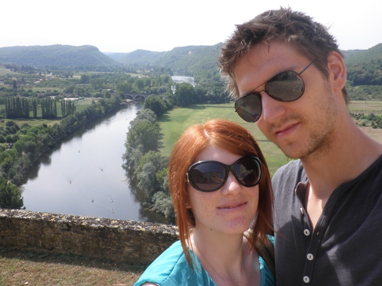 Me and Lennart at Castelnaud