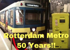RET METRO 50 years Rotterdam Netherlands