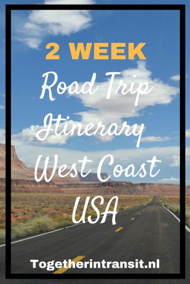 Copy of 2 Week Road Trip Route