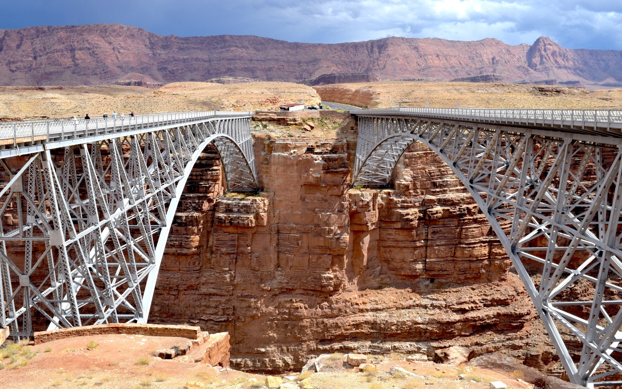 Scenic Route 89A Vermillion Cliffs Navajo Bridge Road Trip US Togetherintransit.nl