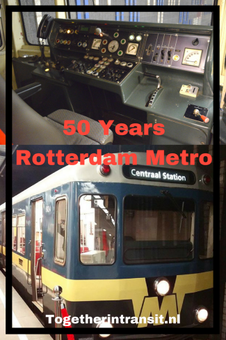 Copy of Copy of RET Metro 50 Years Celebration Rotterdam Blaak Netherlands