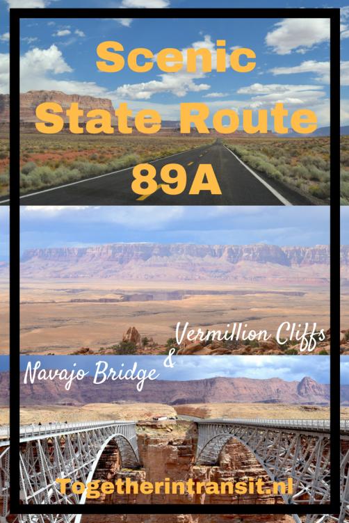 Copy of Copy of Scenic Route 89A Vermillion Cliffs Navajo Bridge togetherintransit.nl
