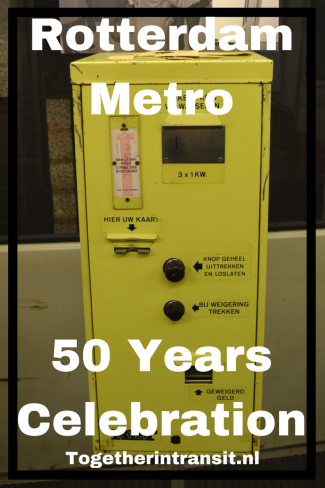 Copy of RET Metro 50 Years Celebration Rotterdam Blaak Netherlands
