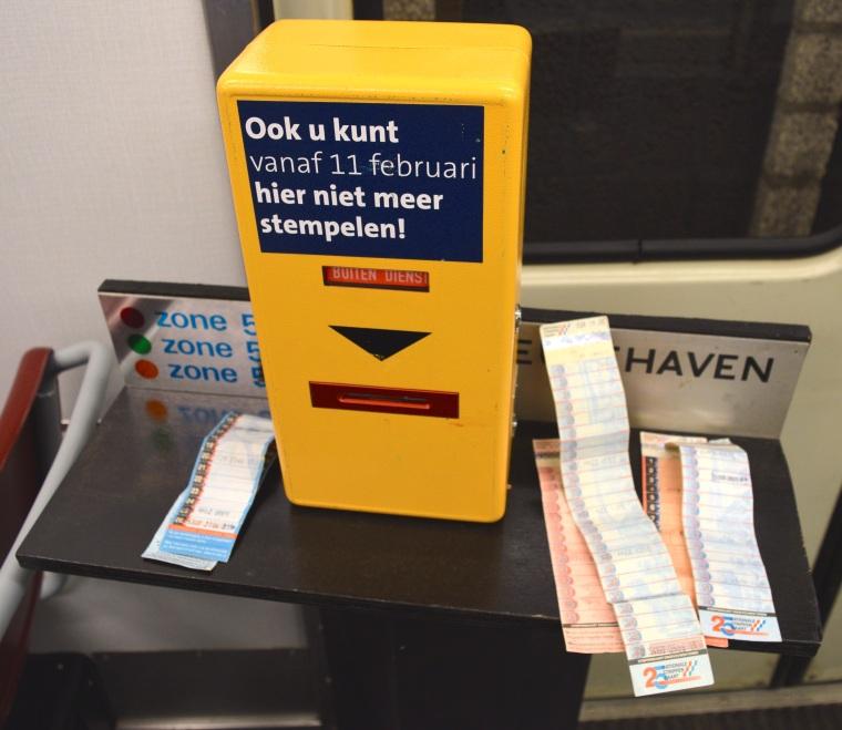 Metro 50 jaar Rotterdam Netherlands RET 10