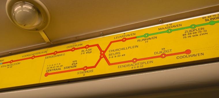 Metro 50 jaar Rotterdam Netherlands RET 4