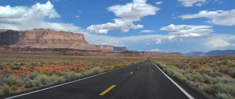 Scenic Route 89A Vermillion Cliffs Navajo Bridge Road Trip US 6