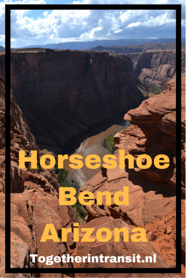 Hiking the Horseshoe Bend Arizona togetherintransit.nl