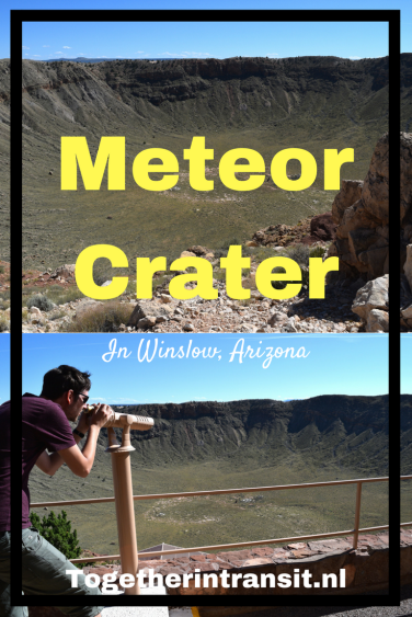 Meteor Crater Arizona Route 66 togetherintransit.nl
