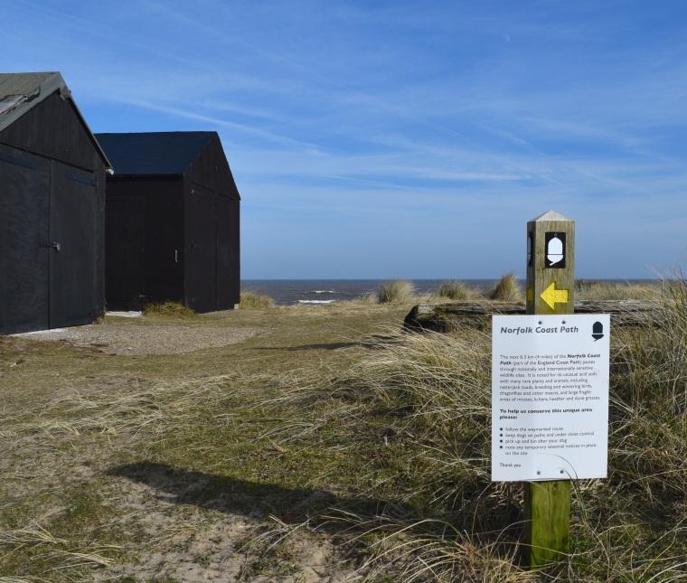 Sand Dunes Walk at Winterton On Sea Norfolk Togetherintransit.nl 13