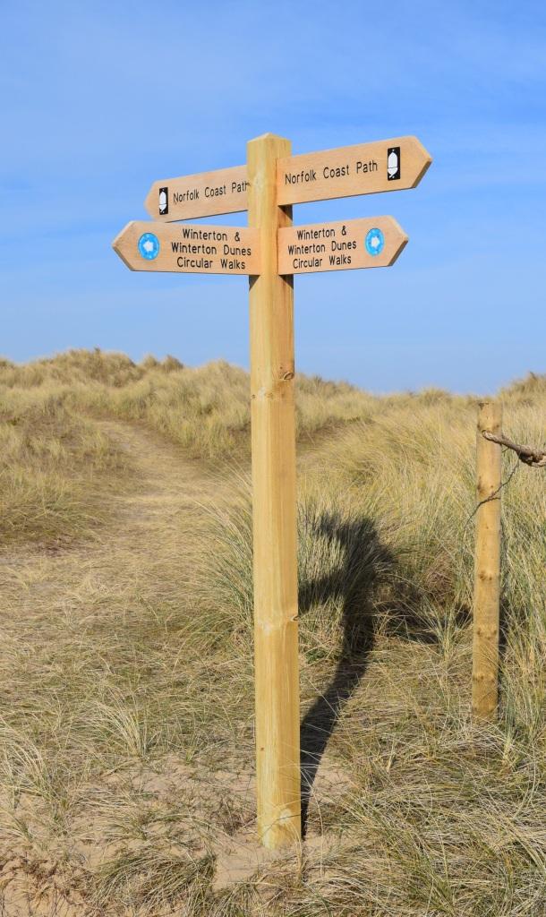 Sand Dunes Walk at Winterton On Sea Norfolk Togetherintransit.nl 2