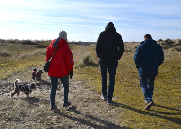 Sand Dunes Walk at Winterton On Sea Norfolk Togetherintransit.nl 5