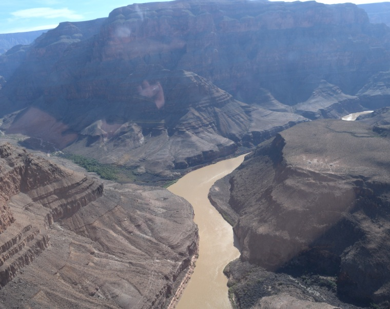 Grand Canyon Helicopter Tour US road trip togetherintransit.nl 5